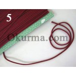 0320481020-0320481260 Import Cotton Rope Thin, Assorted Color Per FT