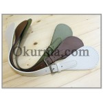 0421100010-12 Genuine Leather Handle Per PC