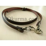 0421100241 Leather Handle Brown Per PC