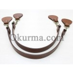 0421100262 Leather Handle Per Pair
